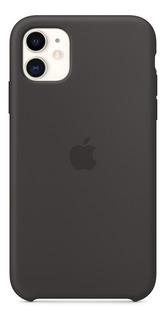 Funda Apple iPhone 11 Silicone Case Black Original Al Costo