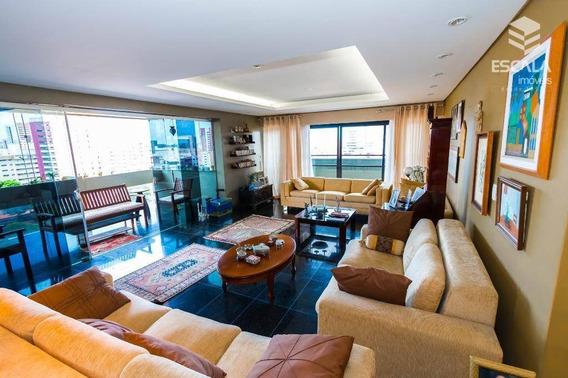 Apartamento Com 4 Quartos À Venda, 330 M², 3 Vagas, Área De Lazer, - Meireles - Fortaleza/ce - Ap1064