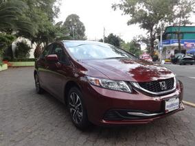 Honda Civic 4p Ex Sedán,tm5,cd,qc,ra16