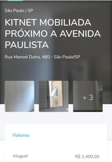 Kitnet Mobiliada Próximo A Paulista