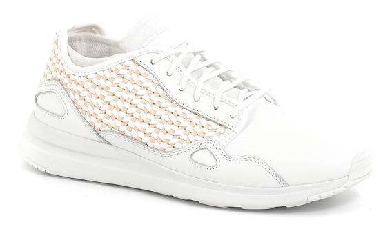 Zapatillas Le Coq Sportif R Flow Woven Optical White/peach