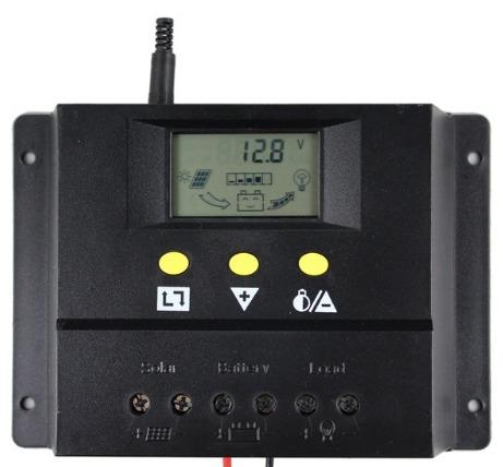 Controlador De Carga Painel Solar 80a 2000w 12v 24v Lcd Pwn