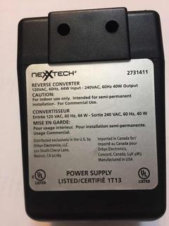 Transformador Convertidor 120vac - 240vac