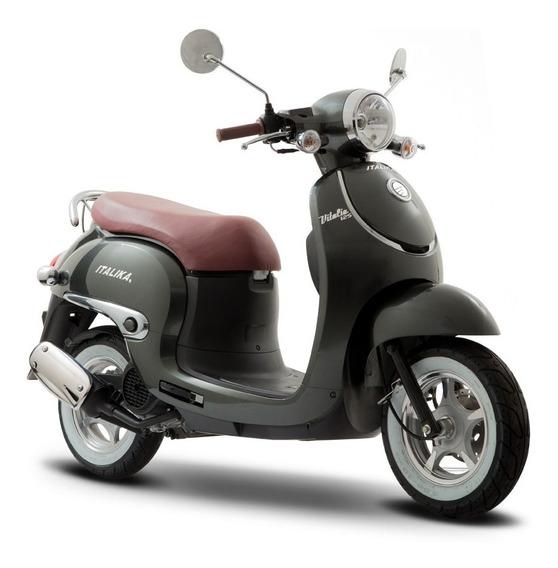 Moto Italika Vitalia 125 Gris
