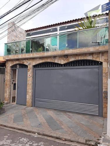 Imagem 1 de 30 de Sobrado Com 3 Dormitórios À Venda, 205 M² Por R$ 820.000,00 - Jardim São Ricardo - São Paulo/sp - So0155