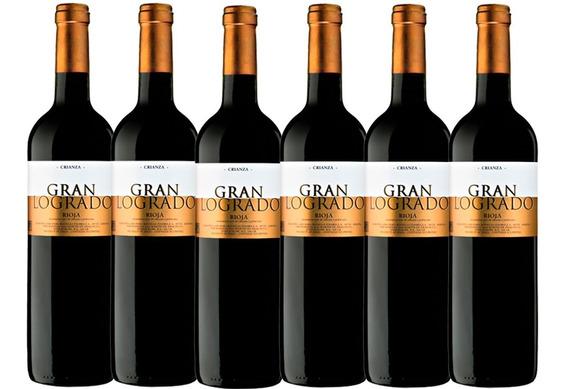 Vino Tinto Gran Logrado Crianza Rioja Bod. Pinord 6 Bot* (f)