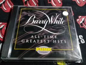 Cd Barry White - All Time Greatest Hits Importado