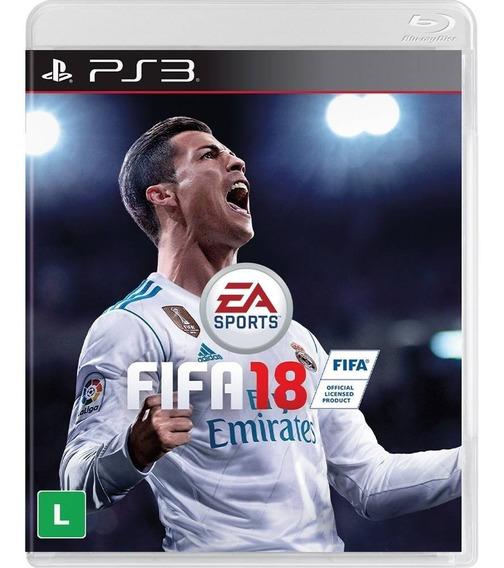 Fifa 18 - Ps3 - Em Português - Mídia Digital