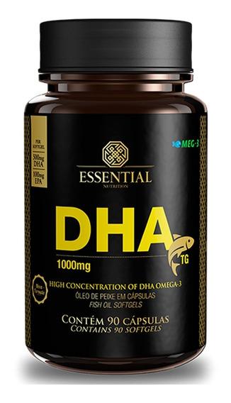 Dha 1.000mg 90 Cápsulas - Essential Nutrition