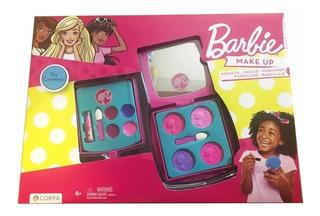 Barbie Set De Maquillaje Infantil Original