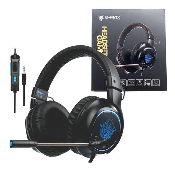 Headset Gamer P2 Ps4 Pc Xbox One Com Fio Bmax Bm 215