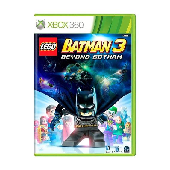 Lego Batman 3 Beyond Gotham Xbox 360 Mídia Física