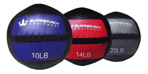 Balon Medicinal 2.0 Supremacy  30-lb  - Negro /morado