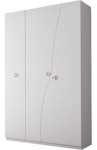 Guarda-roupa Henn Play - Branco Acetinado - 222x126x53cm
