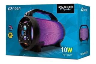Parlante Portatil Noga Boombox Bt Ng-b1715