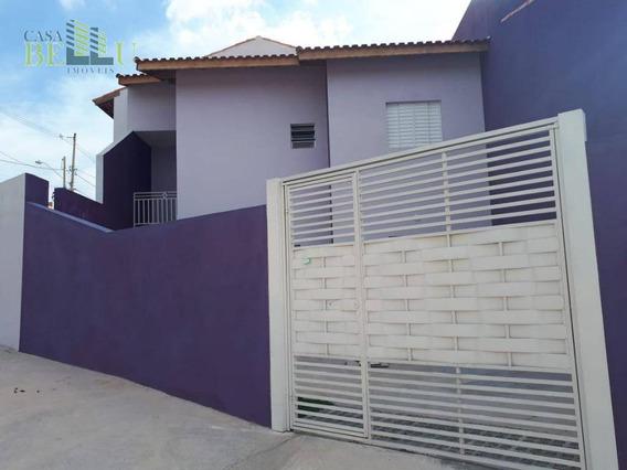 Casa Com 2 Dormitórios À Venda Por R$ 230.000 - Jardim Santo Antonio - Franco Da Rocha/sp - Ca0422