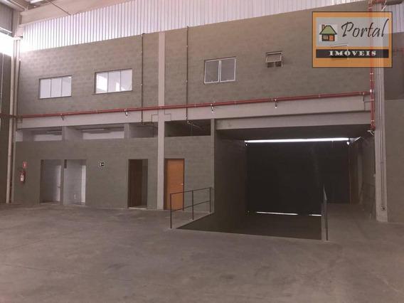Galpão Comercial Para Locação, Jardim Vista Alegre, Campo Limpo Paulista. - Ga0006