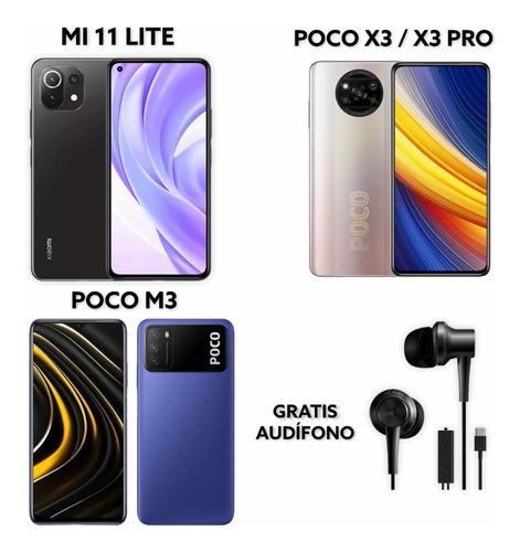 Xiaomi Mi 11 Lite $345/ Poco X3 Pro 128gb $295/ Poco M3 $179