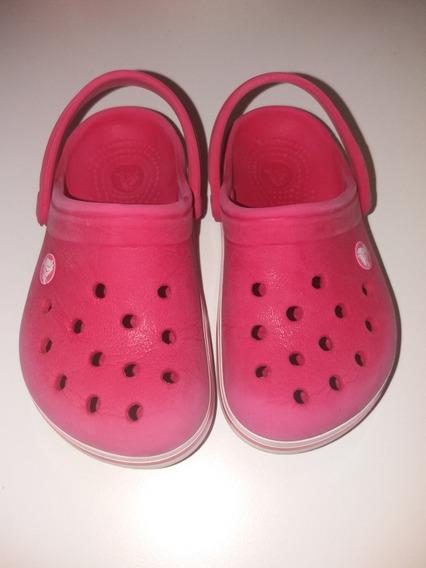 Crocs Originales Fucsias Talle 6/7 Impecables