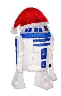 Adornos Navidad Decoracion Ilumina Star Wars R2d2 Vader Yoda