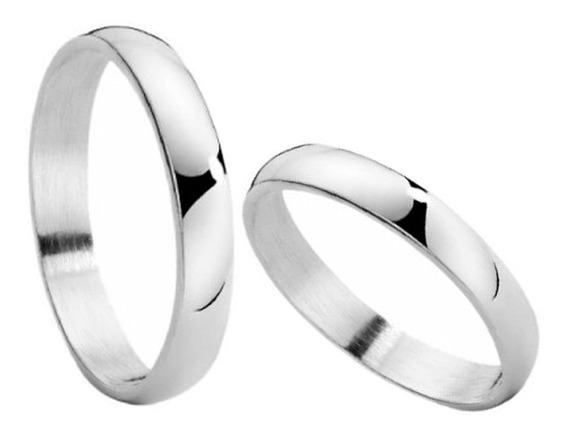 Alianzas Casamiento Acero Quirúrgico 2 Anillos + Grabado