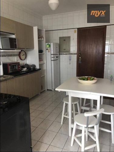 Imagem 1 de 12 de Apartamento Com 1 Dormitório À Venda, 50 M² Por R$ 430.000 - Boqueirão - Santos/sp - Ap6125