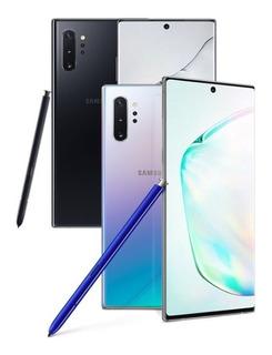 Galaxy Note 10 Plus (brinde) 3998,99àvista Lacrado Nf Garant