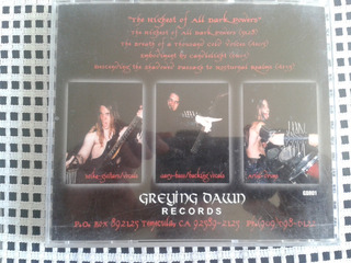 Draconis ¿ The Highest Of All Dark Powers Black Metal Cd