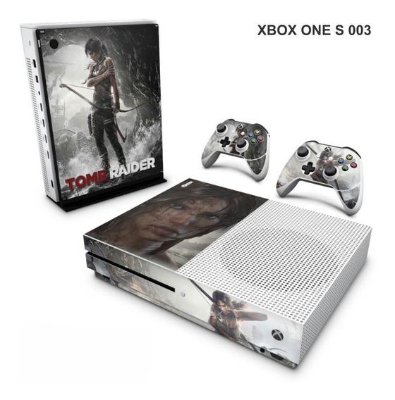 Skin Adesiva Para Xbox One S (slim) Tomb Raider