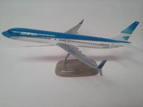 Maqueta De Avion Boeing 737-800 Max Aerolíneas Argentinas