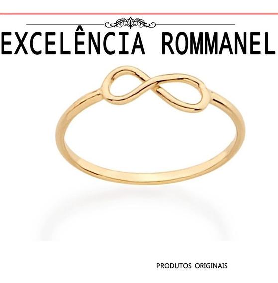 Anel Rommanel Skinny Falange Infinito 511815
