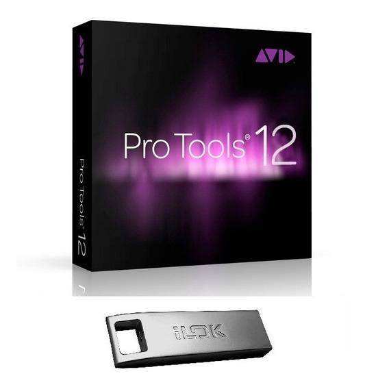 Avid Pro Tools 12+11+10 Original Vitalicio, Ilok 3 Incluso