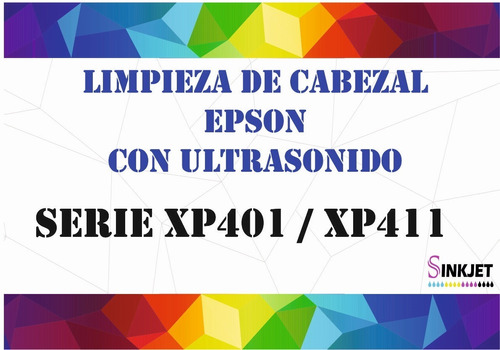 Limpieza De Cabezal Serie Xp 401 Y 411 / Series L