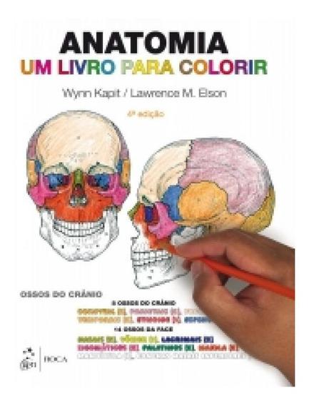 Anatomia Um Livro Para Colorir - Roca