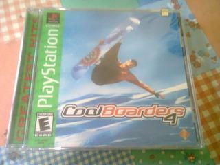 Cool Boarders 4 Ps1 Playstation 1 Nuevo Cerrado Original