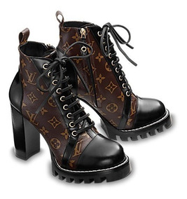 Botas Louis Vuitton Zapatos Botines Gucci Meses Sin Interese