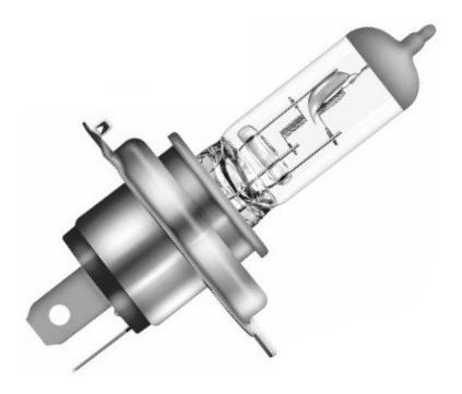 Bombillo Halogeno Phoenix H4 P43 12 V 100/90 Amp