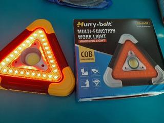 Triangulo De Emergencia Led, Solar ,usb ,3 Funcin De Luz