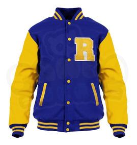 Jaqueta Riverdale Archie Moletom College Bordado Blusa Serie