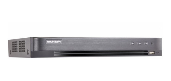 Dvr Hikvision Full Hd 4 Canais Ds-7204huhi-k1 5 Em 1 5mp