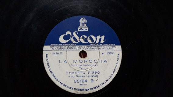Disco La Morocha, Roberto Firpo, Tango