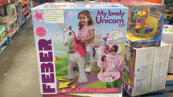 Unicornio De 12 Voltios Feber