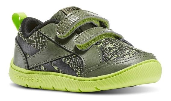 Tênis Infantil Reebok Ventureflex Critter Feet Verde Bd3354