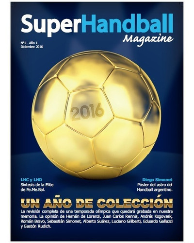 Revista Superhandball Magazine - N°1 (ene2017)