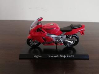 Miniatura Motocicleta Maisto Kawasaki Ninja Zx-9r 1:18