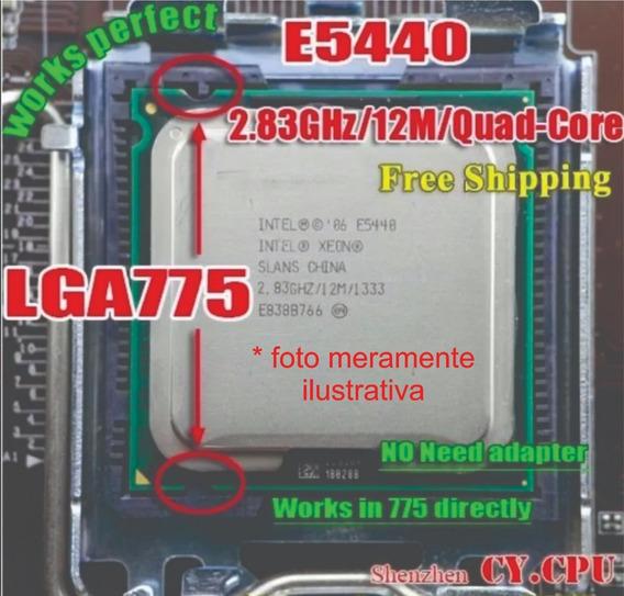 Processador Intel Core 2 Quad Q9550 Xeon E5440 Lga 775 Gamer