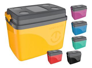 Caixa Térmica Cooler 45 Latas 32 L Alça Diversas Cor Praia