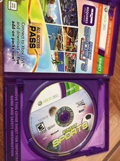 Videojuego De Kinect Sport Para Xbox 360