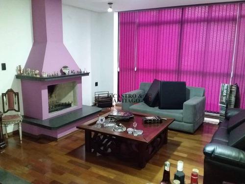 Sobrado Com 4 Dormitórios À Venda, 400 M² Por R$ 1.500.000 - Vila Bertioga - São Paulo/sp - So0225