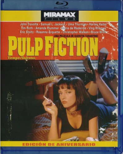 Tiempos Violentos Pulp Fiction 1994 Pelicula Blu-ray